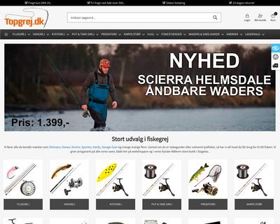 topgrej.dk website