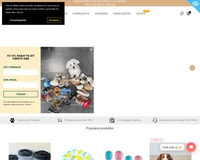 totteland.dk website