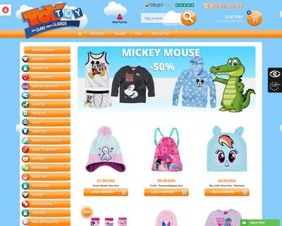 toytoy.dk website