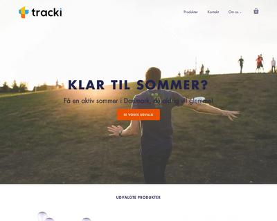 tracki.dk website