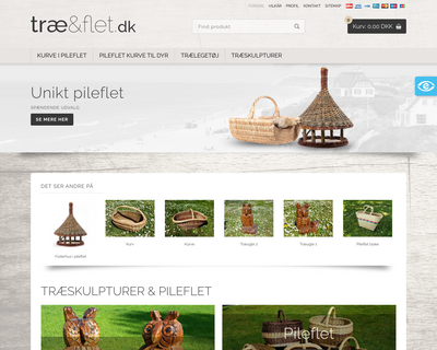 traeogflet.dk website