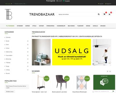 trendbazaar.dk website
