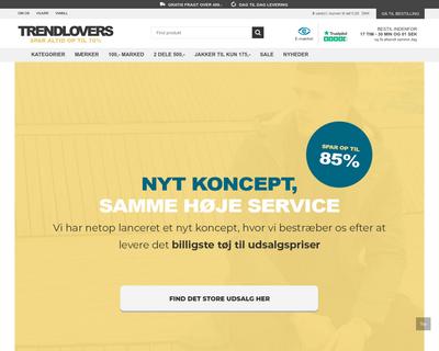 trendlovers.dk website