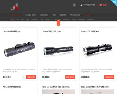 triogate.dk website