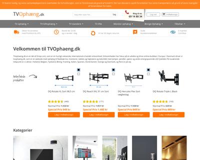 tvophaeng.dk website