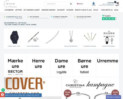 ur-tid.dk website