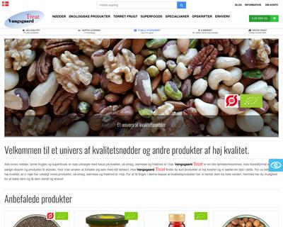 vangsgaardtreat.dk website
