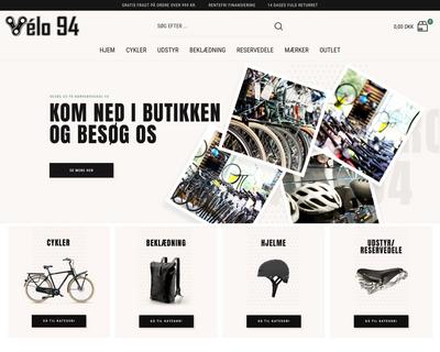 velo94.dk website