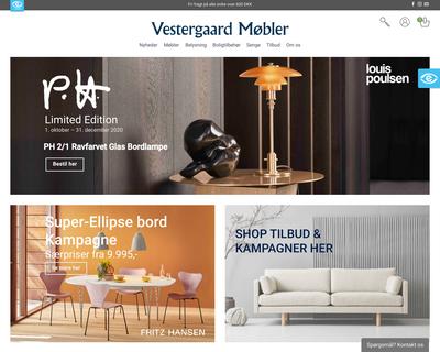 vester-moebler.dk website
