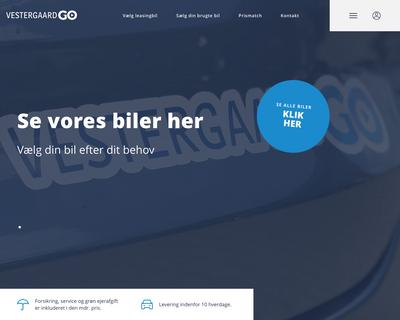 vestergaardgo.dk website