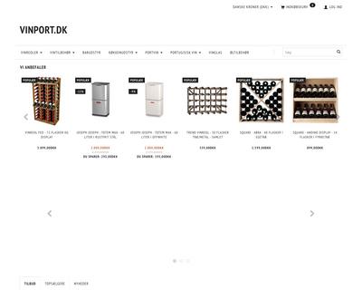 vinport.dk website