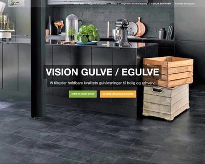 egulve.dk website