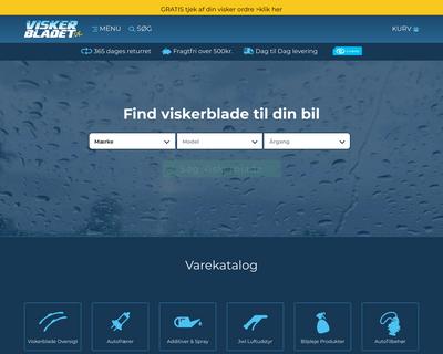 viskerbladet.dk website