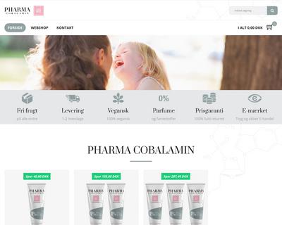vitaminb12.dk website