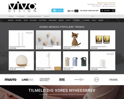 vivodesign.dk website
