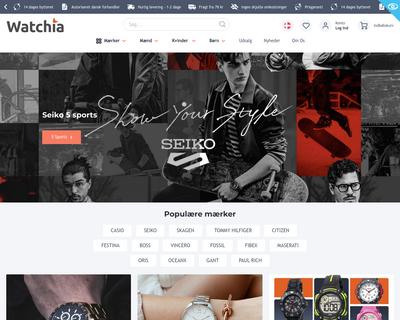 www.watchia.com website