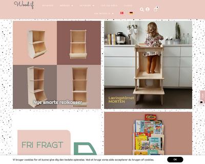 woodif.dk website