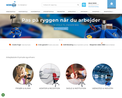 worksitt.dk website