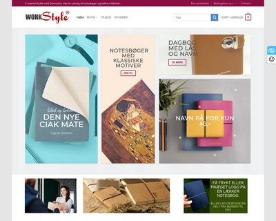 workstyle.dk website