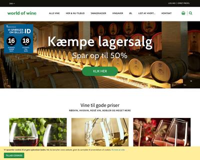 worldofwine.dk website
