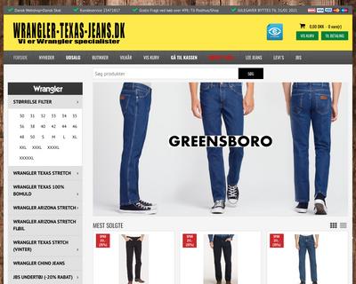 wrangler-texas-jeans.dk website