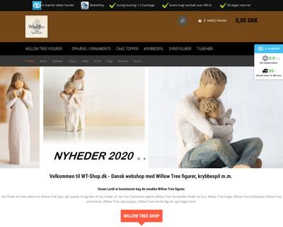 wt-shop.dk website