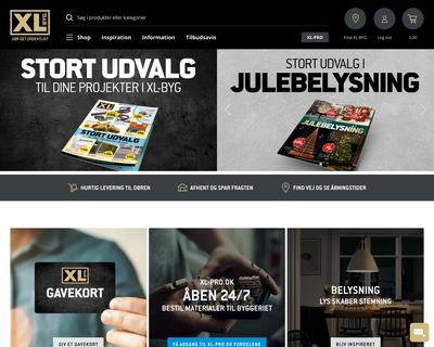 xl-byg.dk website