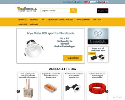 yousave.dk website