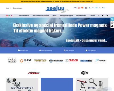 zeejuu.dk website