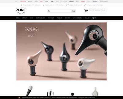 zonedenmark.dk website