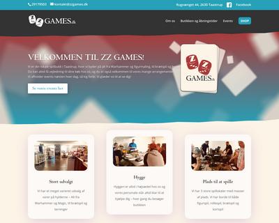 zzgames.dk website